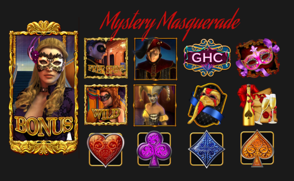 Facebook, slots, masquerade, online, casino