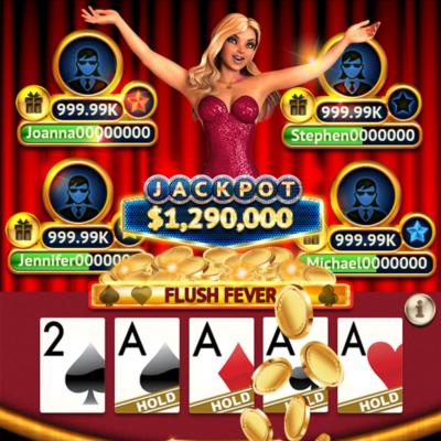 Old Skool Studios - Social Video Poker