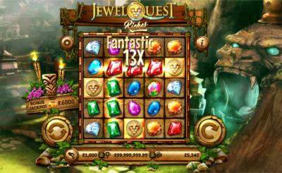 Jewel Quest Riches slot - Casumo Casino